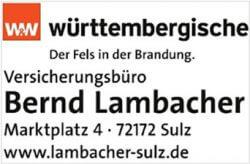 Hauptsponsor Lambacher